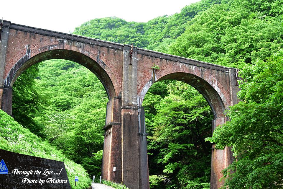 旧信越本線碓井第三アーチ(めがね橋)56D1