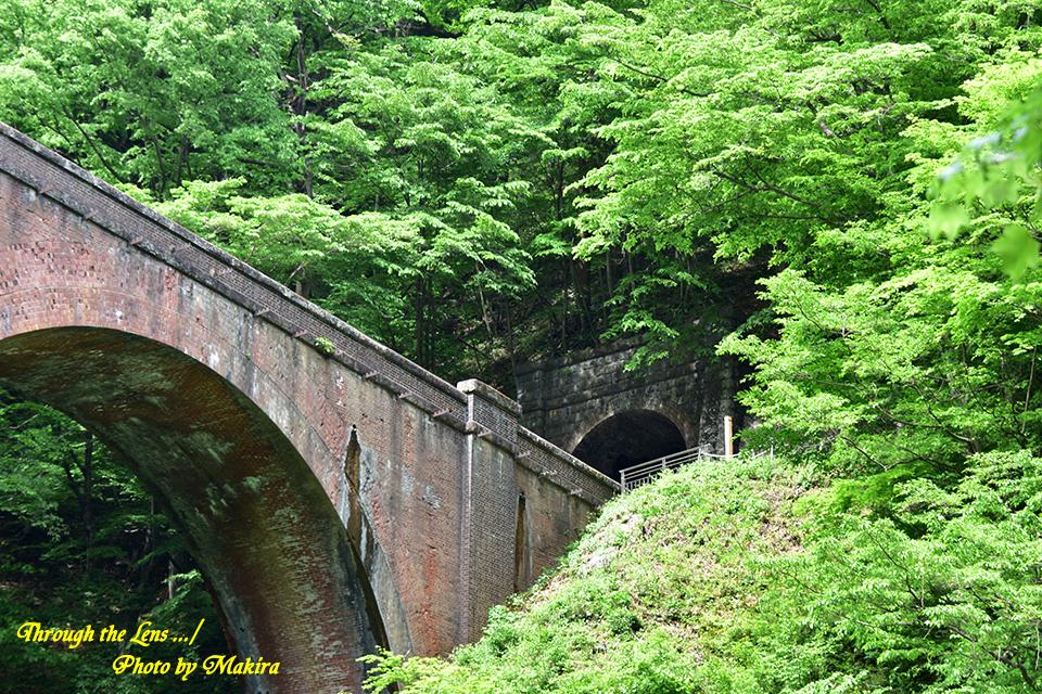 旧信越本線碓井第三アーチ(めがね橋)56D7