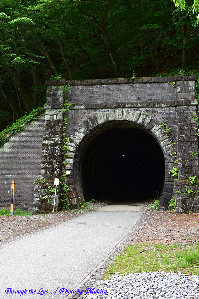 碓氷第三橋梁上・アプトの道・トンネル56D2