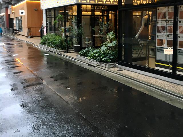 久しぶりに雨で涼しい東京1@2018年7月5日 by占いとか魔術とか所蔵画像