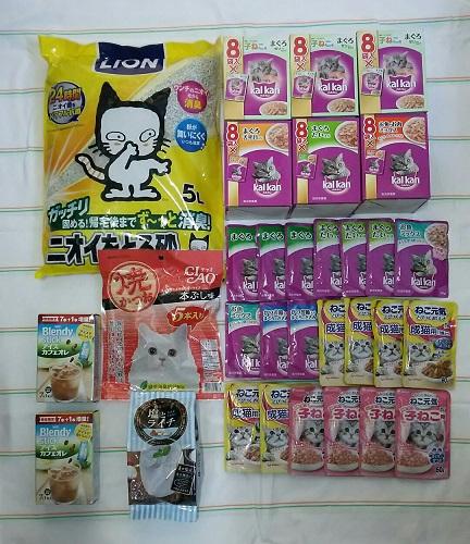 支援物資(香川県 N・Iさま)コーク・風神