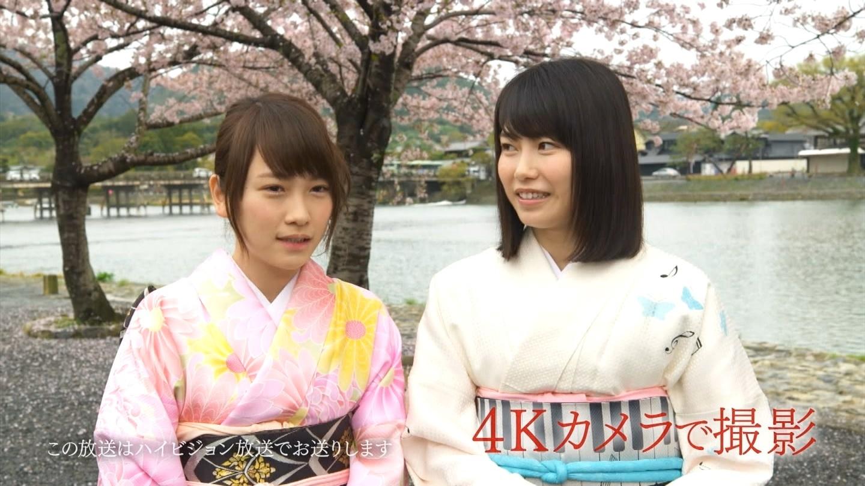 横山由依 2016年 桜 1