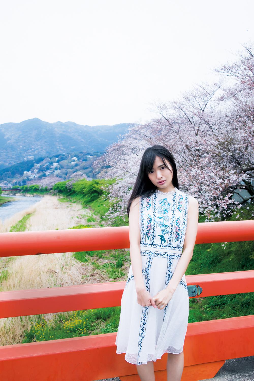 北原里英 2018 桜