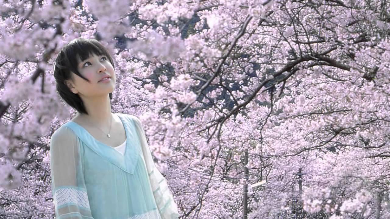 荒井萌 桜 5