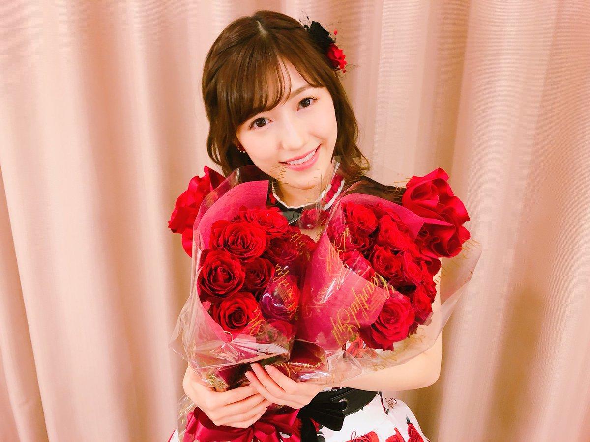 渡辺麻友 2018 薔薇の花束