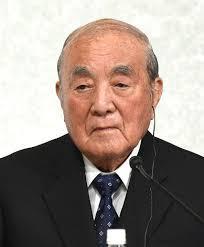 中曽根康弘元首相=丸山博撮影