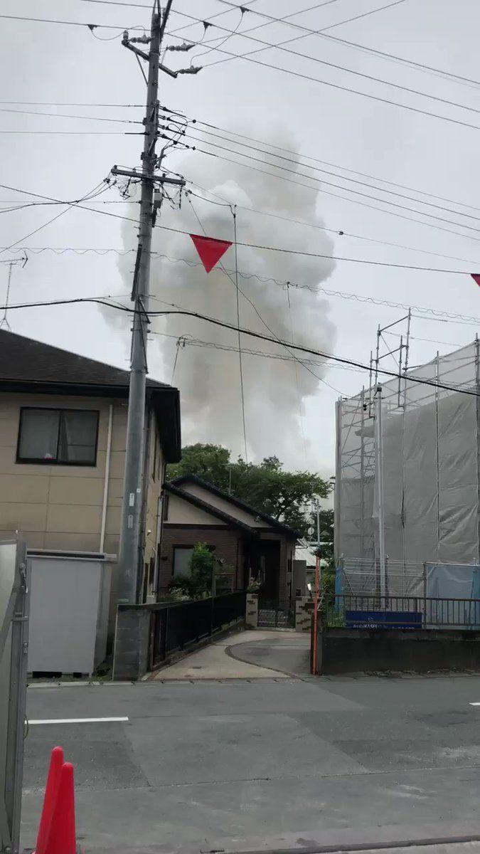 浜松市のキノコ雲