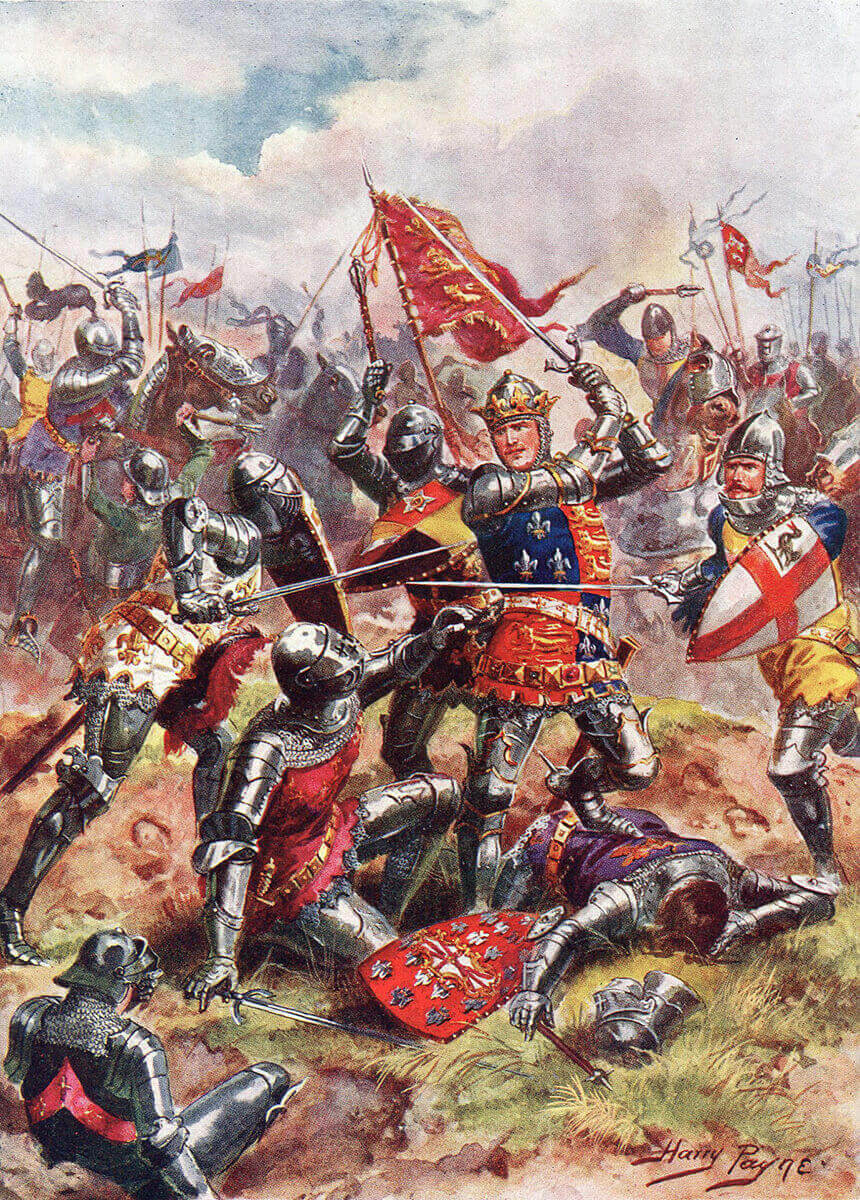 King Henry V at the Batt