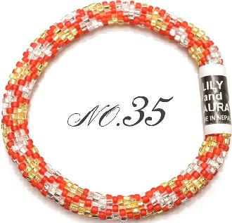 リリーアンドローラのメンズ&レディースブレスレットNO35「メンズ&レディース」