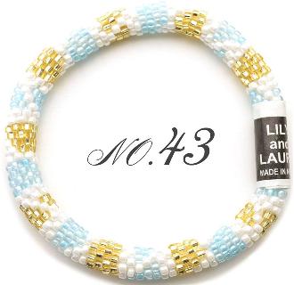 リリーアンドローラのメンズ&レディースブレスレットNO43「メンズ&レディース」