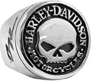Harley-Davidsonのスカルリング