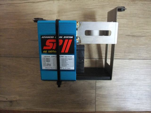 チタン製バッテリーケースへのウオタニ取付