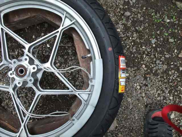 タイヤ交換⑧