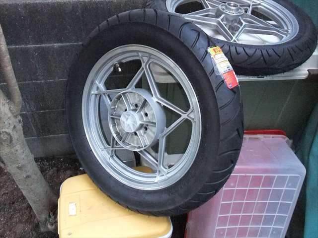 タイヤ交換⑪