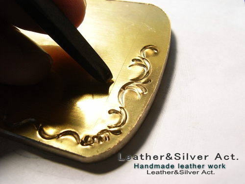 真鍮バックル オーダーメイド