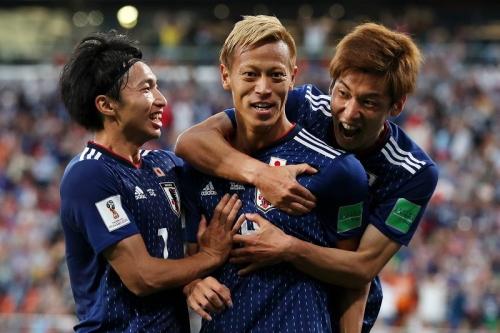 日本 セネガル w杯