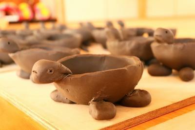 亀の植木鉢