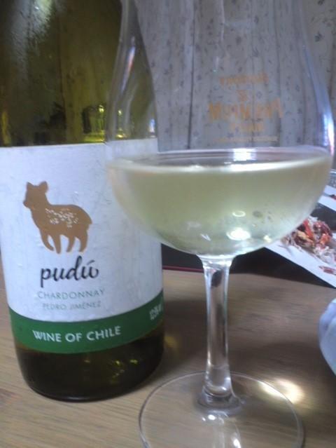 Pudu Chardonnay & Pedro Jiménez(プードゥ シャルドネ&ペドロ・ヒメネス)