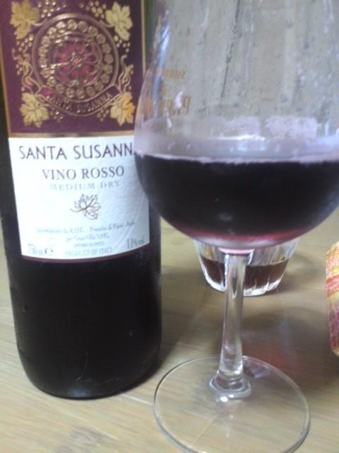 SANTA SUSANNA VINO ROSSO(サンタスザンナ 赤)