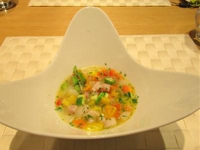 s-季節の野菜スープ