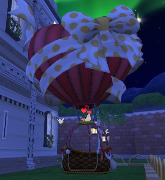 20180613ハート気球のガゼボ