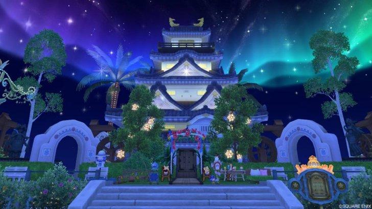 20180730大きな和風のお城の家外観