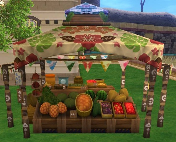 20180801夏野菜の屋台