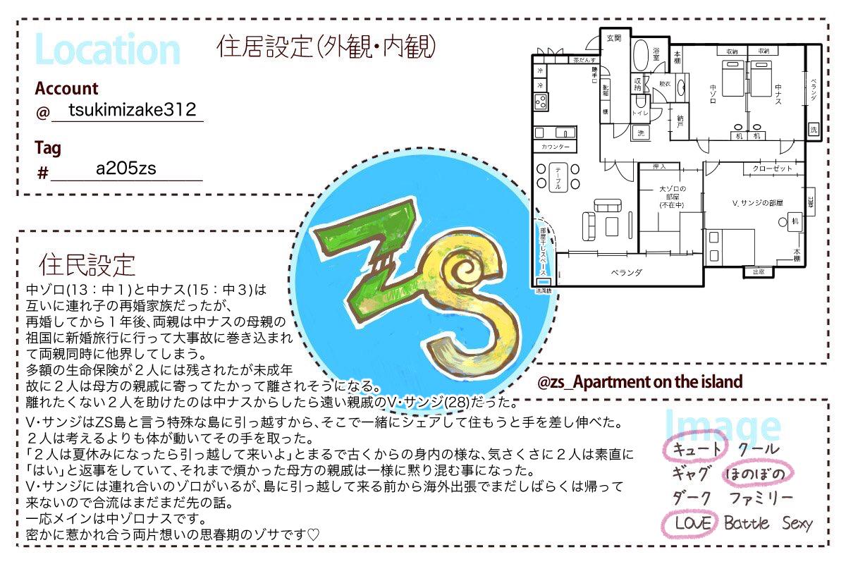 ZS島設定