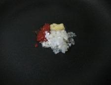 麻婆豆腐 焼肉のタレ 調理②