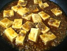 麻婆豆腐 焼肉のタレ 調理⑥