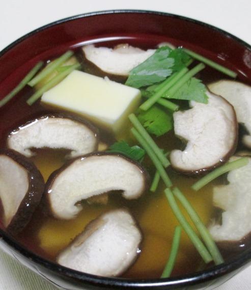 椎茸玉子豆腐 B