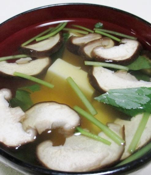 椎茸玉子豆腐 大