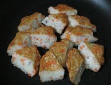 野菜天の卵炒め 調理③