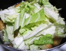 白菜がんも 調理⑤
