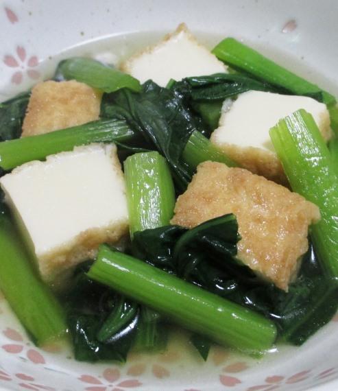 小松菜絹揚げ B
