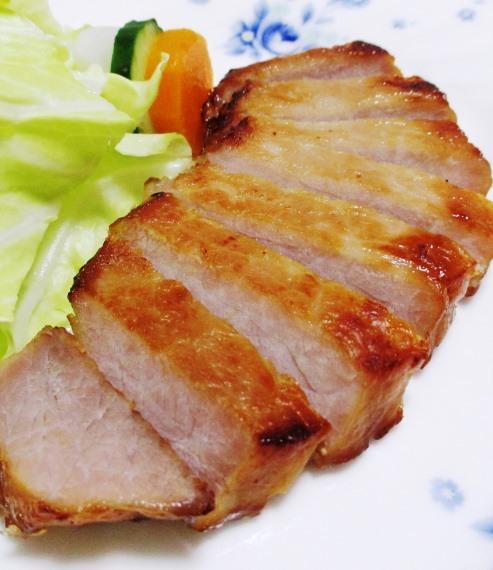 豚ロースの味噌漬け 拡大