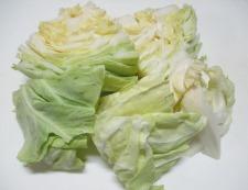 春野菜とソーセージ 調理②