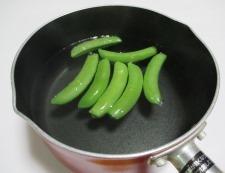 春野菜とソーセージ 【下準備】①