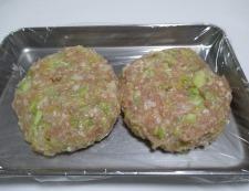 鶏つくねハンバーグ 調理④