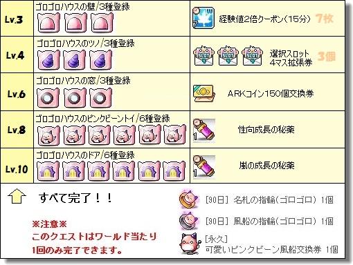 ピンクビーンのゴロゴロハウス④