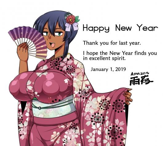 2019年賀正夏季ちゃん4