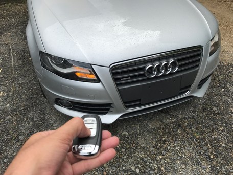 audi a4 all key lost 8