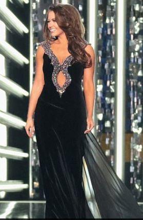 Cara Mund Misss America 2017 dress