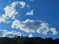 青空と雲.