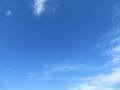青く暑い空