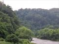 河原から見た青葉山