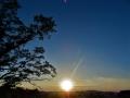 入日の輝き