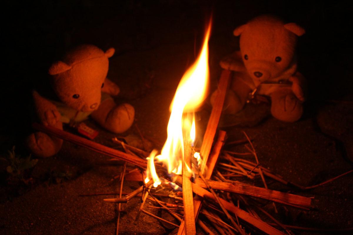 盆の迎え火 180713