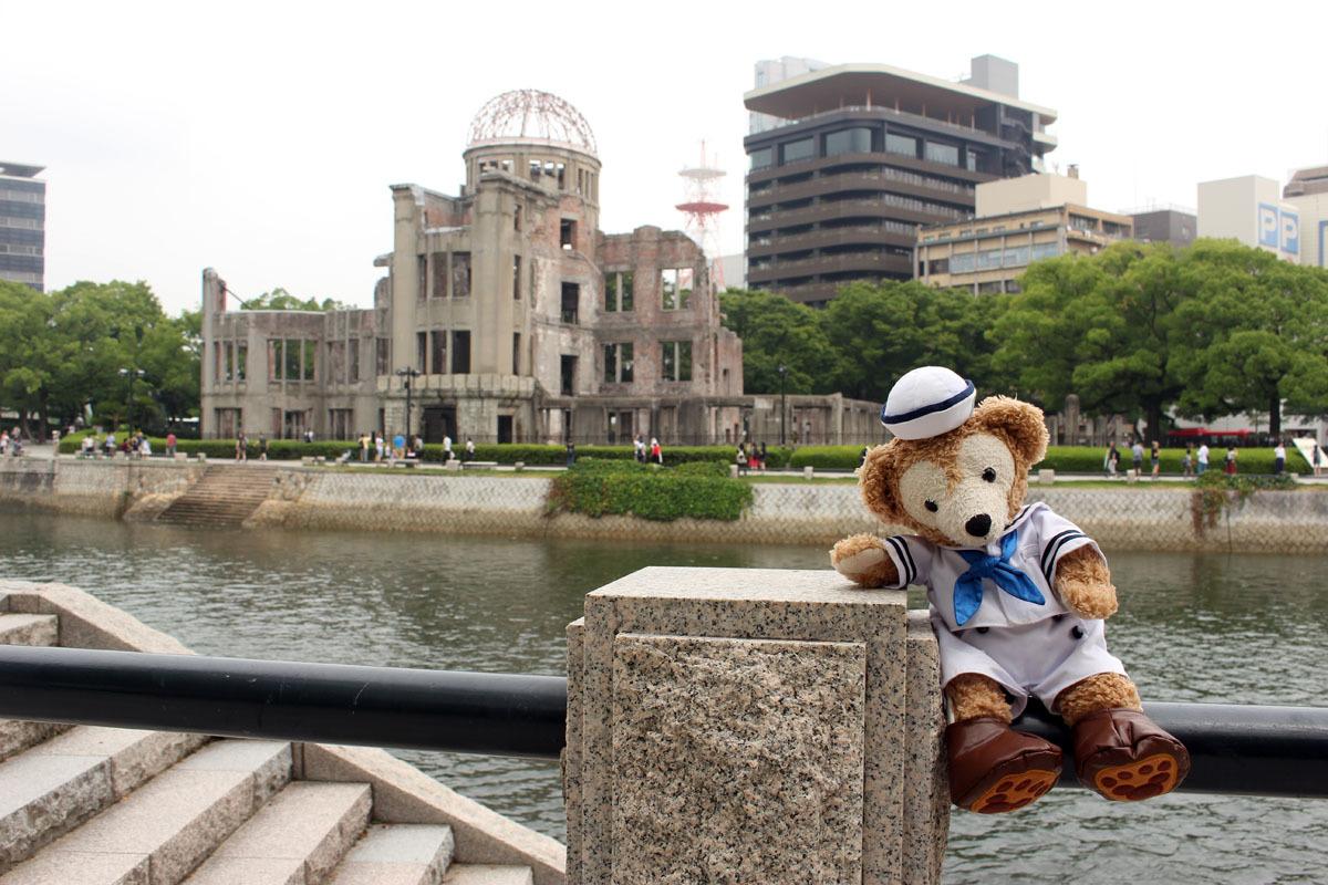 原爆ドームとDuffy 170809