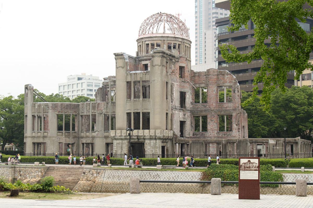 原爆ドーム 170809a